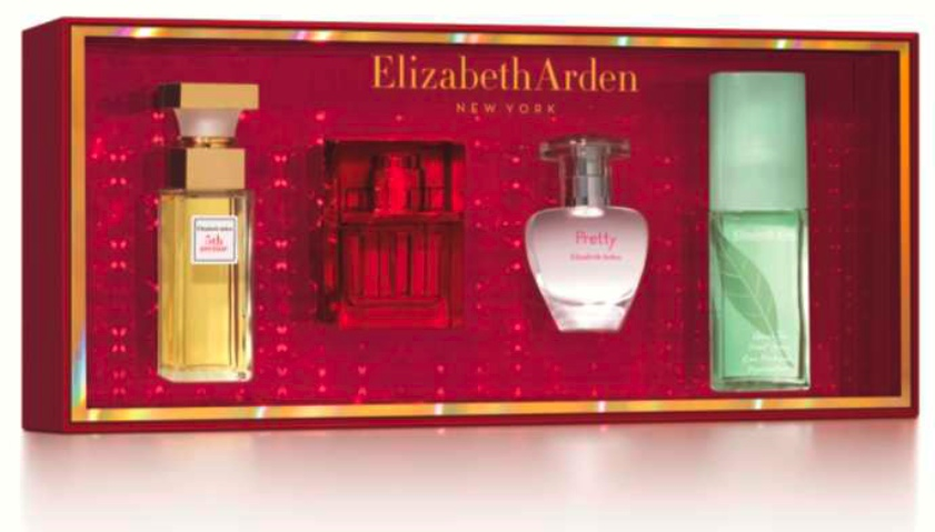 Elizabeth Arden coffret parfum Green Tea -Red Door - Fifth Avenue - Pretty
