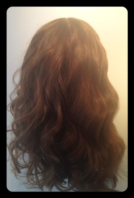 coiffure effet décoiffé-fer Verge