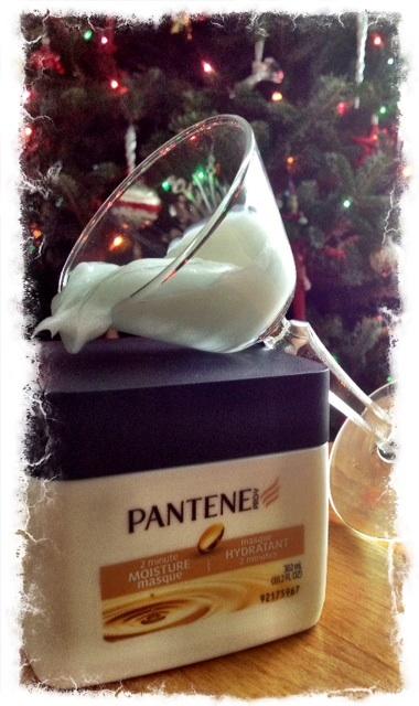 masque hydratant Pantene-cheveux