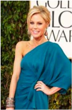 Julie Bowen-Golden Globes 2013-Wella-coiffure-chignon