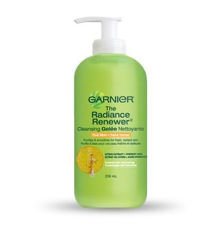 gelee-nettoyante-The Radiance Renewer-Garnier