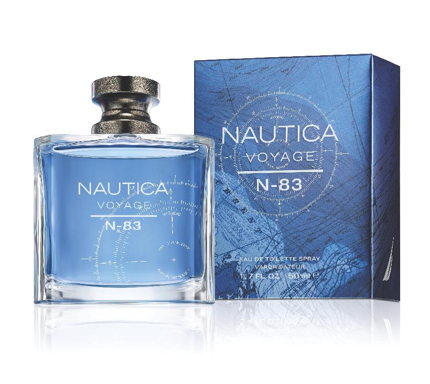 Nautica N-83 50ml Box & Bottle