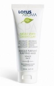 Lotus-aroma-Masque-Argile-Verte
