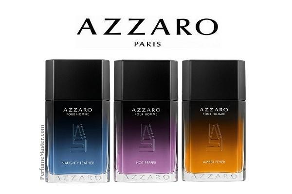 Azzaro Sensual Blends Pour Homme 3 Déclinaisons Contemporaines
